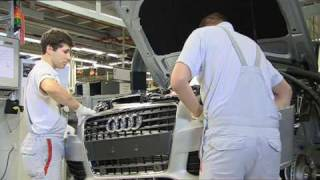 Audi A4 production