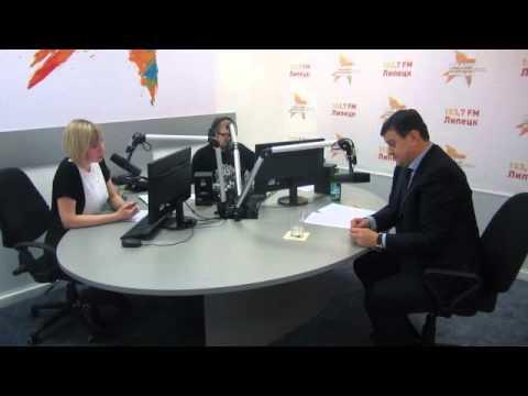 Игорь Тиньков на радио Комсомольская правда в Липецке.