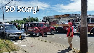 We Were the ONLY Ones to Witness a Life Threatening Accident (June 20th 2018)