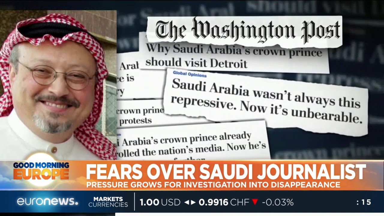 #GME | Pressure grows for Investigation into Saudi journalist disappearance