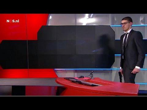 """رعبٌ في قناة """"نوس"""" التلفزيونية الهولندية"""