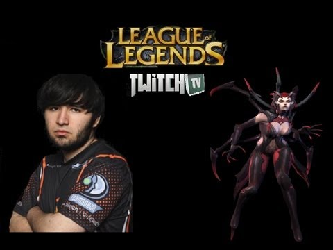 Elise [Top Lane] - Crs Voyboy - League Of Legends Season 3 (June 2013)