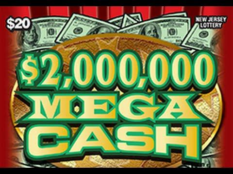 $2Mill Mega Cash Instant Lottery Ticket Big Winner #26