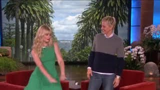 Beth Behrs Dances on 'Ellen'! on Ellen Show
