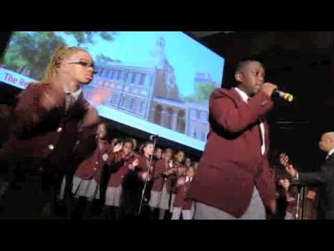 Philadelphia's Girard College Junior Cavaliers Choir (9/12/14)