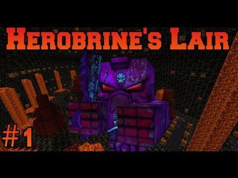 Minecraft: Herobrine's Lair - Owned By Myself - Part 1
