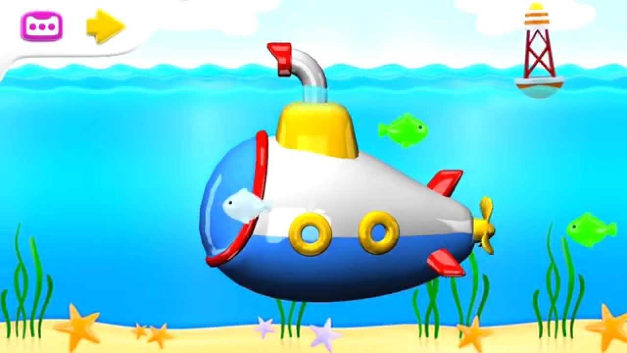 Mon petit sous marin dessin anim francais pour les enfants youtube - Dessin pour les petit ...
