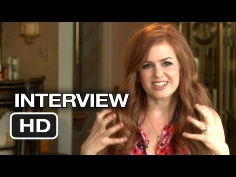 Now You See Me Interview - Isla Fisher (2013) - Morgan Freeman Movie HD