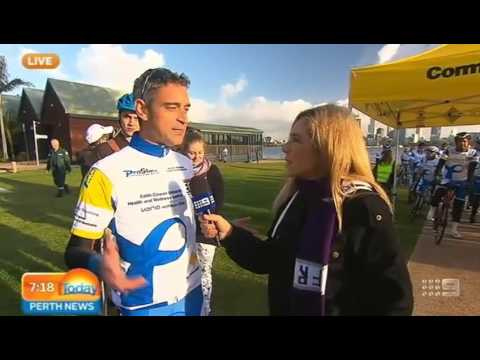 Prostate Cancer Awareness Cycle 2015   Today Perth News