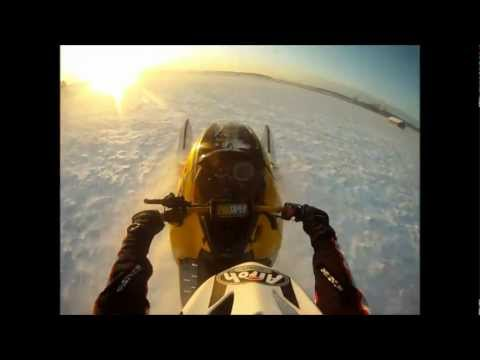 SKI DOO REV 600 Rullen  / Wheelie! Testing Cudney Racing