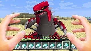 Minecraft : REALISTIC POKEMON GO FINDING GROUDON! (Ps3/Xbox360/PS4/XboxOne/PE/MCPE)