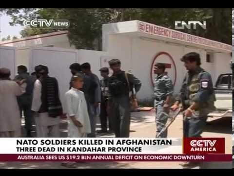 3 US soldiers killed in Kandahar, 3 Georgian in Helmand Afghanistan