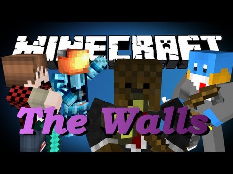 Minecraft THE WALLS 2 VS 2 VS 2 VS 2 (Duo Battle)