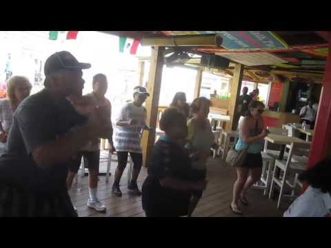 All American H-d H.o.g.s Doing The Biker Shuffle In Senior Frogs Freeport Bahamas! video