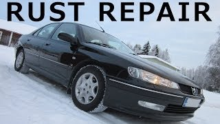Peugeot 406 V6 - Rocker Panel Rust Repair