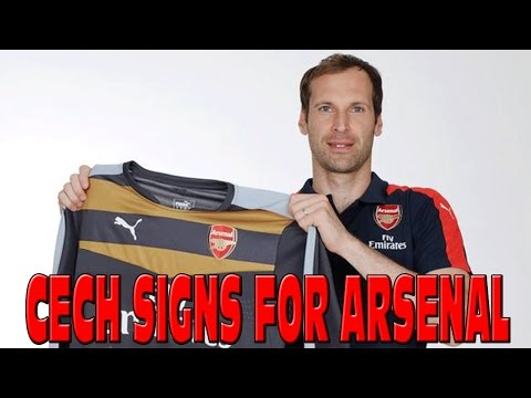 PETR CECH SIGNS FOR ARSENAL £10,5 MILLION - HUGE TRANSFER - MY REACTION