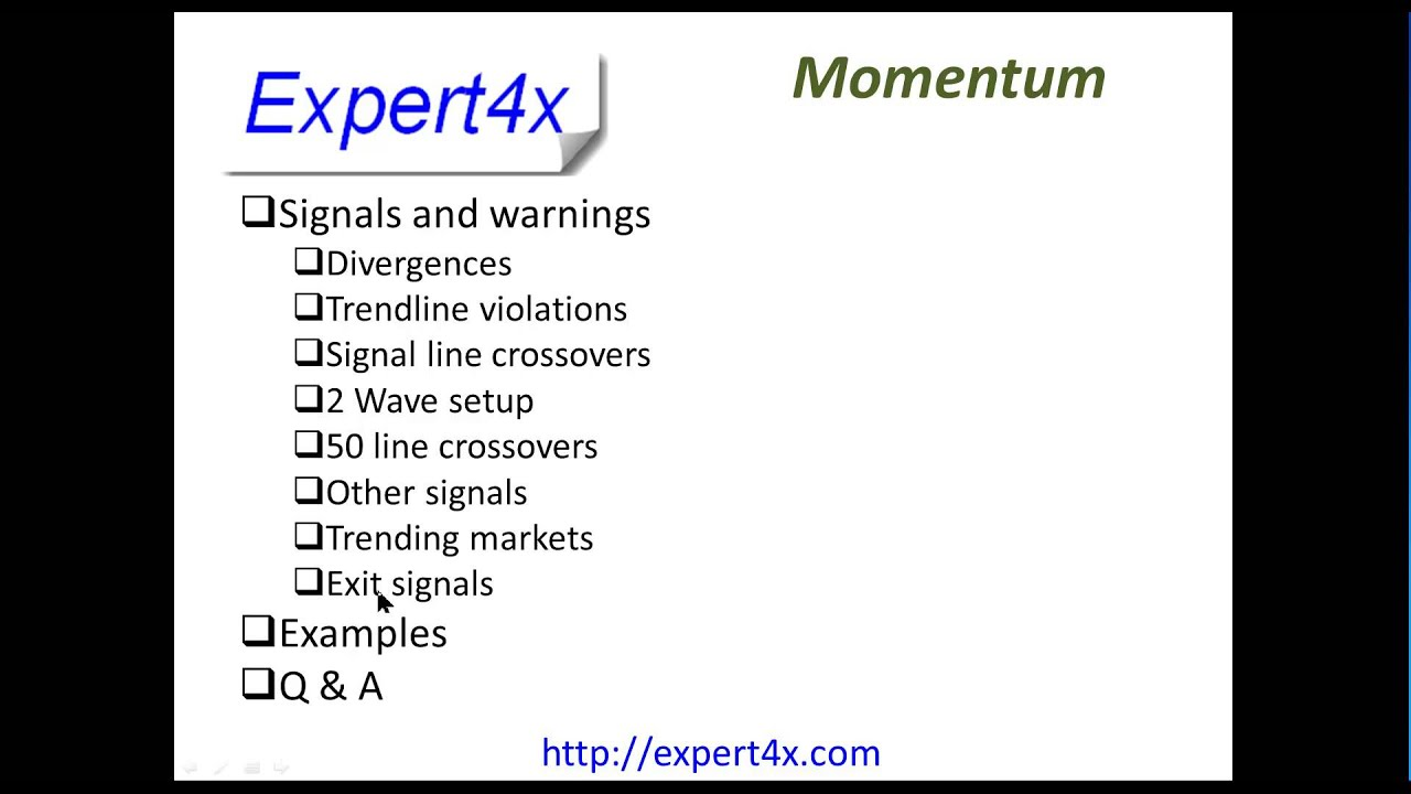 Using momentum indicator forex