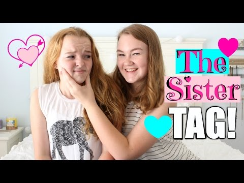 Meet My Sister Sam! | The Sister Tag ♡