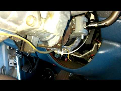 How to replace ignition lock cylinder switch