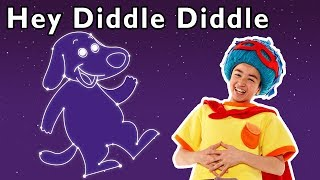 🌙Hey Diddle Diddle and More | PLAY PRETEND CLASSIC SONG | Nursery Rhymes from Mother Goose Club!