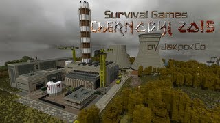 Chernobyl 2015 trailer [Minecraft Survival Games map]
