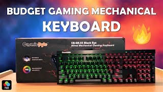 Budget Gaming Mechanical Keyboard For Rs 2500/- Only - Cosmic Byte GK-03 [HINDI]