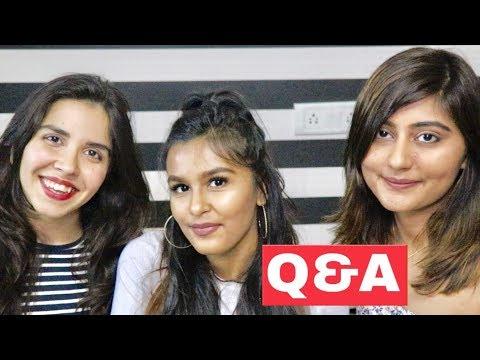 Mukbang + Q&A with Heli Ved & Kritika Goel / Mridul Sharma