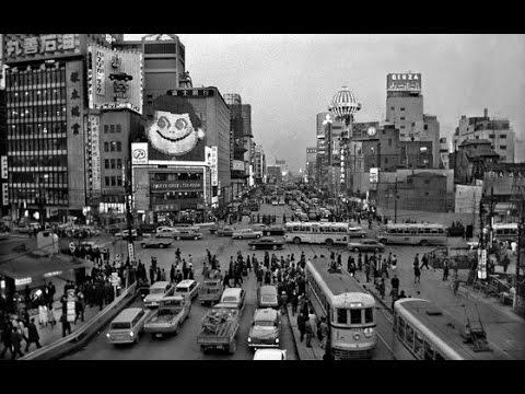 【50年前の東京の風景】バブル前の高度成長期辺り、激変時代と現代の風景!Tokyo 50 years ago!