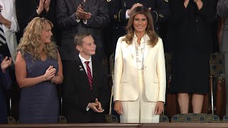 A Look at Melania Trump's Body Language During the State of the Union Address