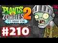 Plants vs. Zombies 2: It's About Time - Gameplay Walkthrough Part 210 - Dark Ages Sneak Peek! (iOS)