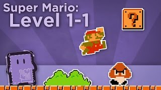 Design Club - Super Mario Bros: Level 1-1 - How Super Mario Mastered Level Design