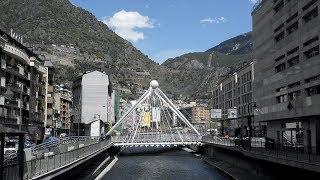 A Tour of Andorra la Vella - Andorra, Europe
