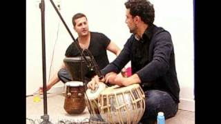 Habib qaderi, Siar Hashimi and Ali Howaida practicing for the Germany concerts 2010