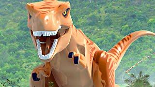 O Jurassic World & Jurassic Park All Cutscenes Movie