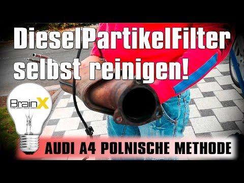 DPF reinigen Dieselpartikelfilter selbst reinigen und ausbrennen POLNISCHE METHODE !