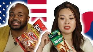 American & Koreans Swap Snacks Part 2