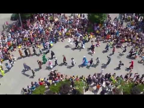 Fursuit Parade Pittsburgh Anthrocon 2015 Fursuit Parade