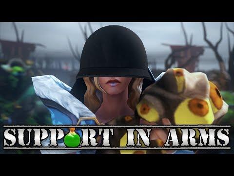 Support in Arms - Dota 2 Ti7 Short Film Contest [SFM]
