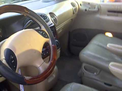2000 chrysler town and country lxi tour and start up