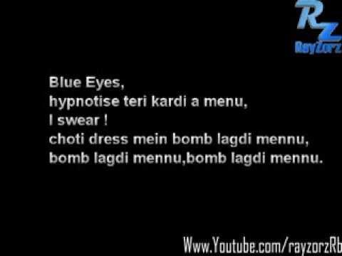 Blue Eyes Hypnotize Teri Kardi Hai Menu - YouTube