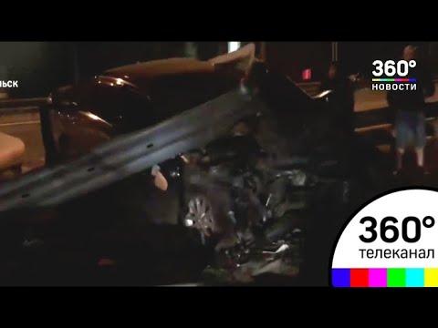 Полицейские выясняют обстоятельства ДТП в Подольске