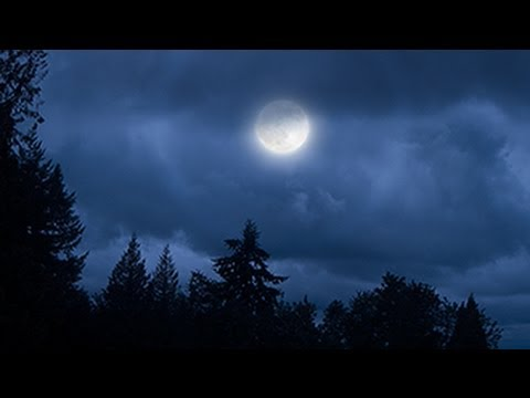 Photoshop CS6: How to Transform a Cloudy Day into a Moonlit Night