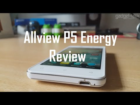 Allview P5 Energy Video Review
