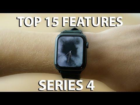 Top 15 Apple Watch Series 4 Features!