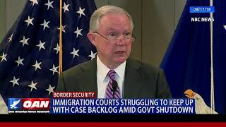 Immigration courts struggling to keep up with case backlog amid government shutdown