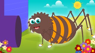 Itsy Bitsy Spider | Incy Wincy Spider | Nursery Rhymes For Children by SillySox