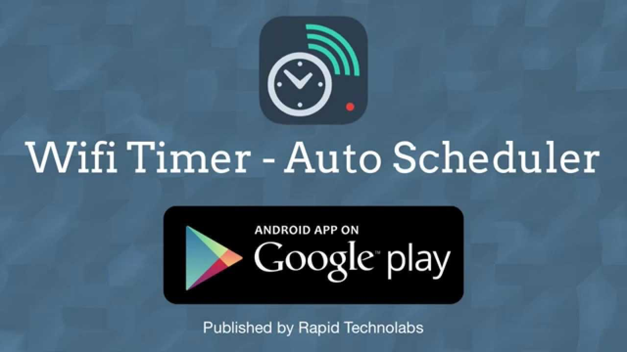 [Wifi Timer - Auto Scheduler] Video