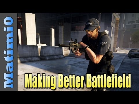 Making Battlefield Hardline A Better Game - (BFH Beta)