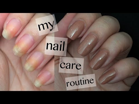 MY NAIL CARE - Nail Painting Routine ♡