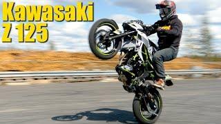 Unboxing KAWASAKI 125 Z - Test Ride